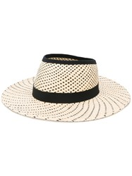 Henrik Vibskov Hole Hat Women Straw 57 Nude Neutrals