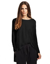 Kenneth Cole Trina Knit Top Black