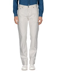 Galliano Casual Pants White