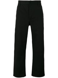 Burberry Cropped Trousers Black