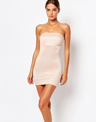 Smooothees Smoothies Shaping Bandeau Slip Dress Nude Beige