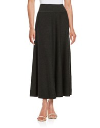 Dkny Sweater Maxi Skirt Carbon