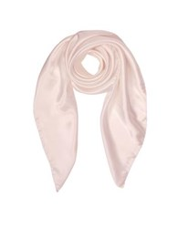 Forzieri Pure Silk Square Scarf Pink