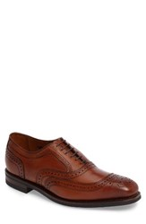 Allen Edmonds Men's 'University' Wingtip Walnut Leather