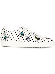 Moa Master Of Arts Minnie Mouse Embroidered Sneakers White