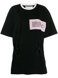 Colmar Drawstring T Shirt Black