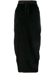 Thom Krom High Waisted Fitted Skirt Black