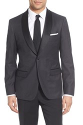 Strong Suit 'Morgan' Trim Fit Wool Dinner Jacket Gray