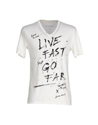 Brian Dales Topwear T Shirts Men Ivory