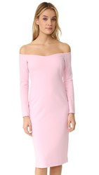 Black Halo Vita Sheath Dress Misty Pink