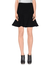Ndegree 21 Knee Length Skirts Black