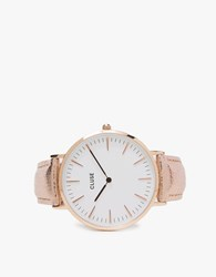 Cluse La Boheme Rose Gold White Rose Gold Metallic White Rose Gold
