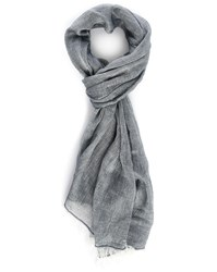 Bill Tornade Blue Grey End On End Cloth Scarf