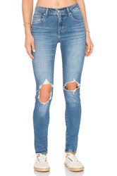 Levi's 721 High Rise Skinny Rugged Indigo