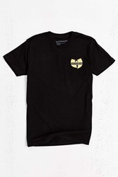 Urban Outfitters Wu Tang Clan Embroidered Tee Black