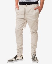 Jaywalker Men's Stretch Twill Cargo Pants Only At Macys Gray