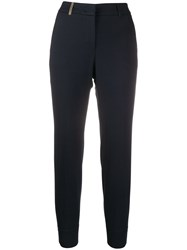 Peserico Slim Fit High Waisted Trousers 60