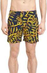 Vilebrequin Men's Merise Superflex Sunny Gold Swim Trunks