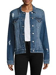 Joe's Jeans Ashley Distressed Denim Jacket Cameran