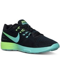 Nike Women's Lunartempo 2 Running Sneakers From Finish Line Black Clear Jade Midnight
