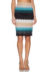 Karina Grimaldi Johanna Pencil Skirt Black