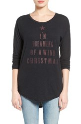 Signorelli Women's I'm Dreaming Of A Wine Christmas Sweatshirt