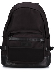 Ami Alexandre Mattiussi Side Buckle Backpack Black