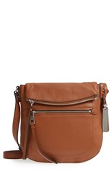 Vince Camuto 'Tala' Leather Crossbody Bag Brown Dark Rum