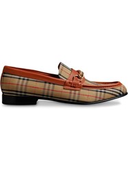 Burberry The 1983 Check Link Loafer Yellow