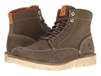 Timberland Westmore Leather Fabric Boot Olive Nubuck Canvas Men's Lace Up Boots