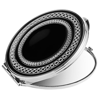 Vera Wang With Love Noir Compact Mirror Silver Black
