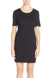 Tart 'Emmerson' French Terry Sheath Dress Black