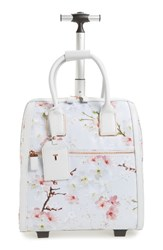 Ted Baker London Alayaa Cherry Blossom Two Wheel Travel Bag
