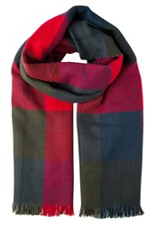 Evenandodd Scarf Black White Red