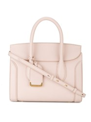 Alexander Mcqueen Medium Heroine Shopper Women Leather One Size Nude Neutrals