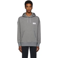 Givenchy Grey Atelier Patch Hoodie 055 Ltgryme