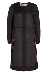 See By Chloe Coat With Wool Black