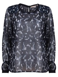 Garcia Women Top With Prints Marine