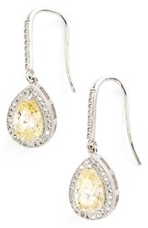 Lafonn 'S 'Lassaire' Canary Drop Earrings