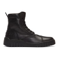 Diesel Black H Rua Am High Top Sneakers