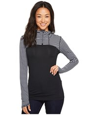 Mountain Hardwear Butterlicious Long Sleeve Hoodie Black Long Sleeve Pullover