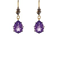 Cathy Waterman Women's Mixed Gemstone Drop Earrings No Color