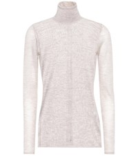Gabriela Hearst Steinem Cashmere And Silk Sweater Grey