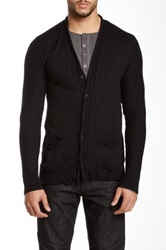 Rogue Long Sleeve Cardigan Black