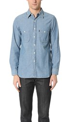 Chimala Chambray Work Shirt Used Wash