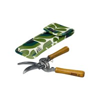 Orla Kiely Pruners In Pouch Green Multi