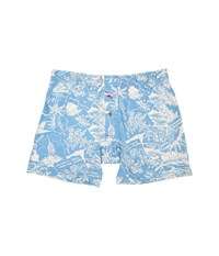 Tommy Bahama Printed Cotton Modal Jersey Boxer Brief Hawaii Scenic Ocean Blue Men's Underwear