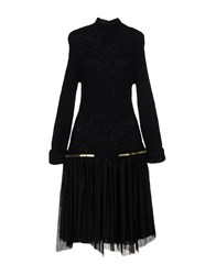Jay Ahr Knee Length Dresses Black