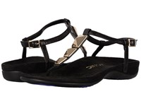 Vionic Nala Black Sheep Nappa Women's Dress Sandals