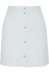 Richard Nicoll Leather Mini Skirt